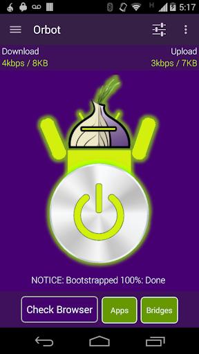 Orbot 使用 Tor 的代理