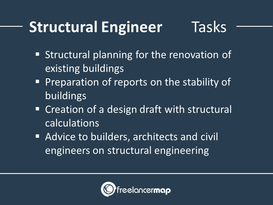 Structural Engineer - Tasks and Responsibilities