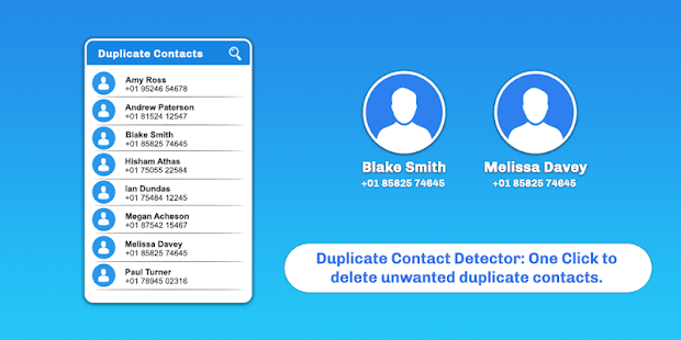 Duplicate Contact Remover - náhled