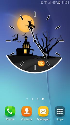 玩個人化App|ハロウィーン アナログ時計免費|APP試玩