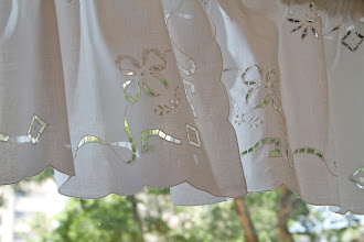 Photo: 短簾:100%棉麻材質 尺寸:150xH45cm