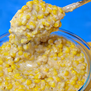 Monterey Jack Creamed Corn