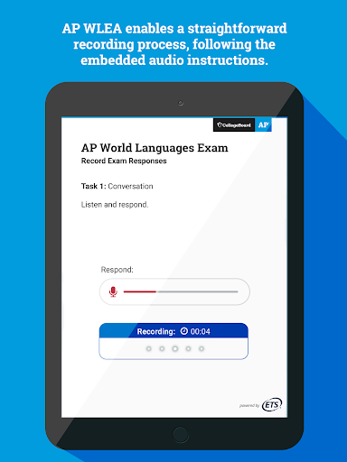AP World Languages Exam App (AP WLEA) screenshot 10