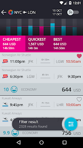 momondo Cheap Flights & Hotels screenshot 1