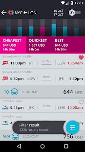 momondo Cheap Flights & Hotels- screenshot thumbnail