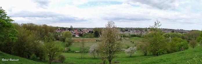 Photo: Panorama Gelinden vanaf natuurgebied Overbroek