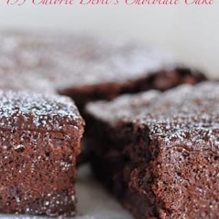 195 Calorie Devil'S Chocolate Cake Recipe