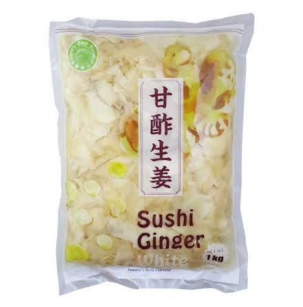 Sushi Ginger White 1kg Nature´s Best Harvest