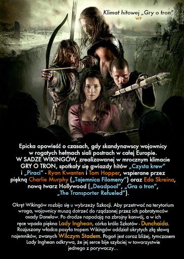 Tył ulotki filmu 'Saga Wikingów'