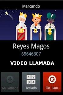 REYES MAGOS VIDEO LLAMADA - náhled