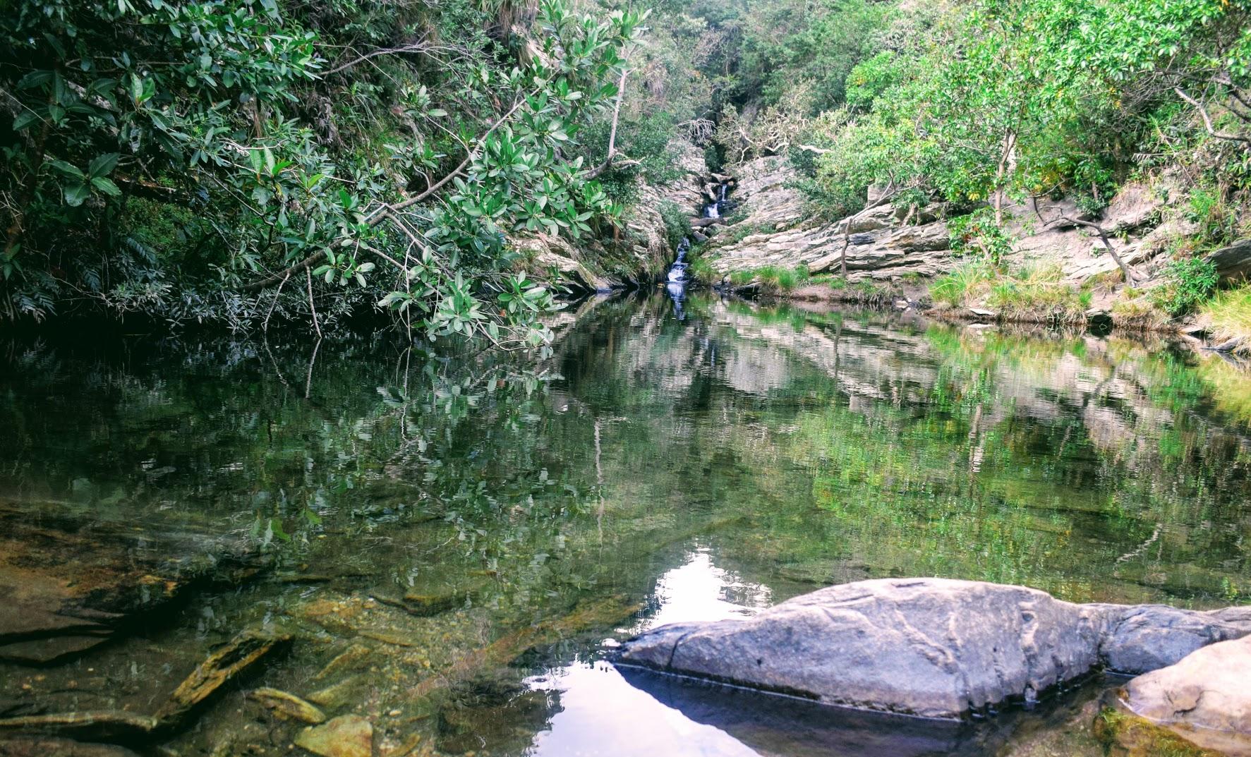 Região da Mãe D'água, na Trilha dos Escravos, Serra do Cipó