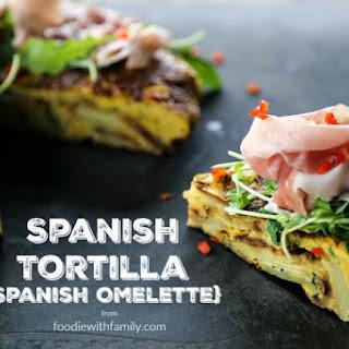 Spanish Tortilla {Spanish Omelette} Recipe