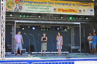 Photo: Rechts die Bürgermeisterin von Tychowo.