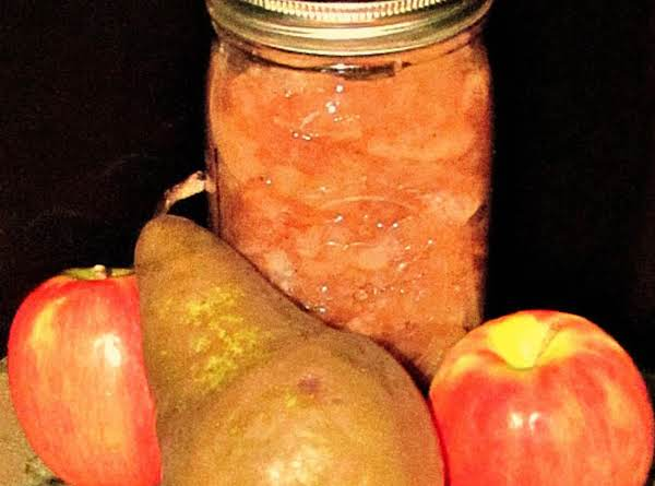 Chunky Apple/pear Sauce (sugar Free) Recipe