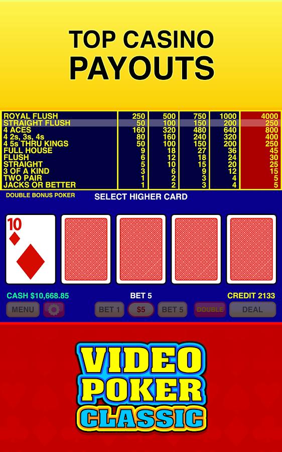 video poker training software free