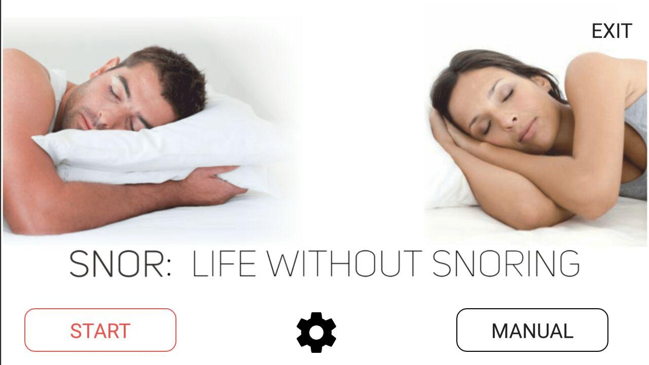 SNORETECH Anti Snoring Device- screenshot
