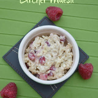 Pomegranate Bircher Muesli.