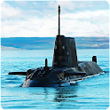 Navy War Russian Submarine 3D icon