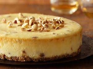 Brandy Hazelnut Cheese Pie