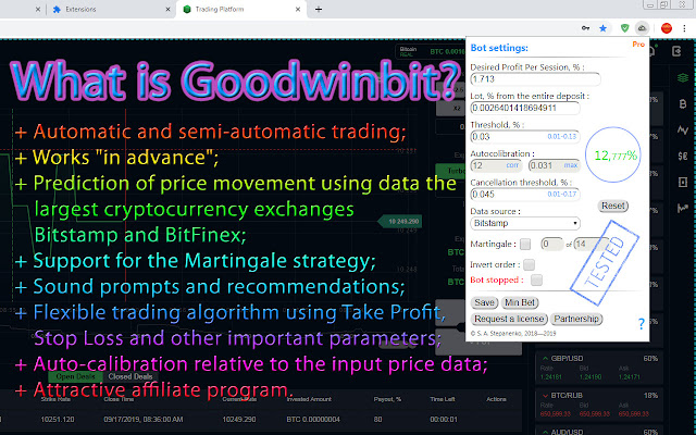 bot per trading)