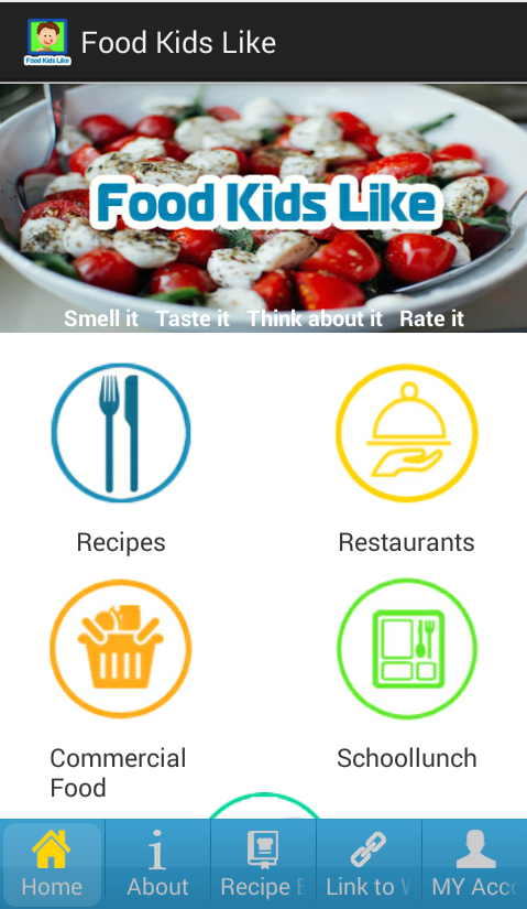 Food Kids Like- screenshot