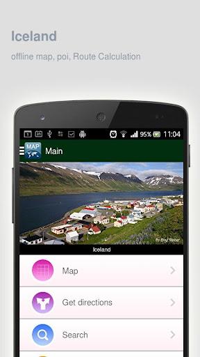 Iceland Map offline