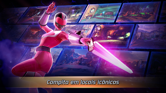 Power Rangers: Guerras Legacy Screenshot