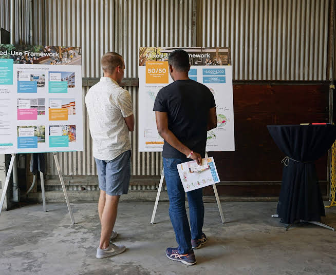Neighbors learn details and share input at open house