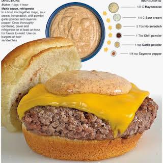 Zesty Burger Sauce.