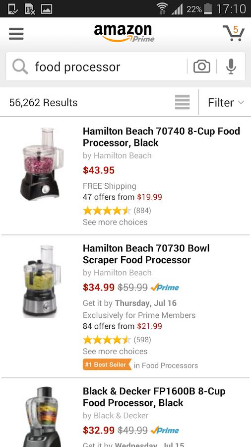 Tải phần mềm amazon mua sắm online