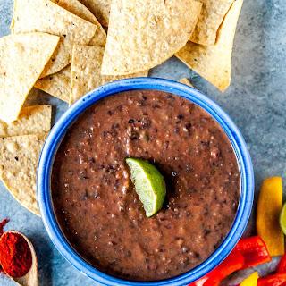 Spicy Vegan Black Bean Dip.