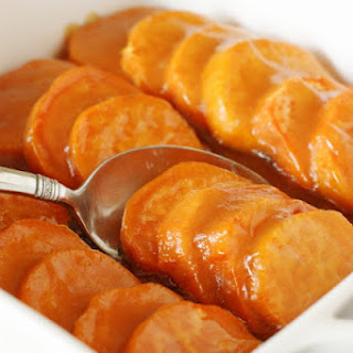 Glazed Sweet Potato Coins