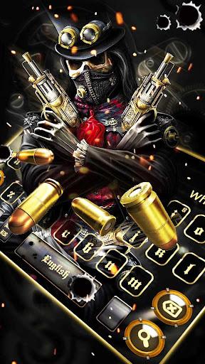 Skull Gun Keyboard 10001003 screenshots 1