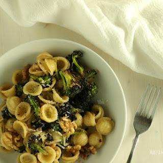 Roasted Broccoli & Walnut Pasta
