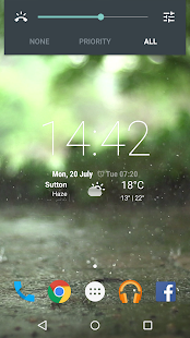 Real Rain Live Wallpaper - náhled
