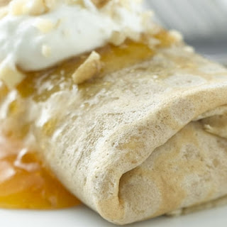 Ricotta & Apricot Walnut Crepes