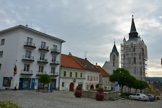 Photo: Kościół Nawiedzenia NMP i miejska wieża(aktualnie w remoncie.