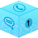 Secret Call & SMS - Blue theme icon
