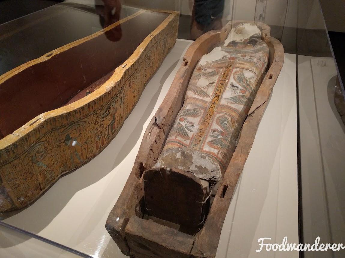 LACMA coffin