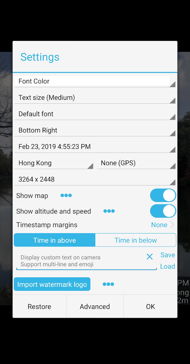 Timestamp Camera Pro Screenshot 5