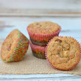 Paleo Pear and Cinnamon Muffins.