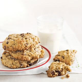Grandma Mollie's Oatmeal Raisin Chocolate Chip Cookies.