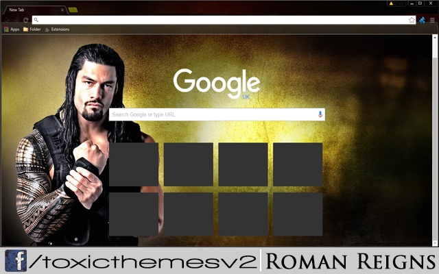 WWE Roman Reigns Screenshot