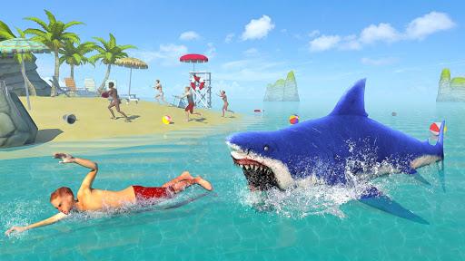Hungry Shark Attack Simulator: New Hunting Game 30.8 screenshots 1