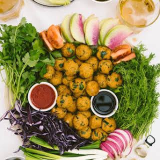 Turkish Vegan Lentil Meatballs.