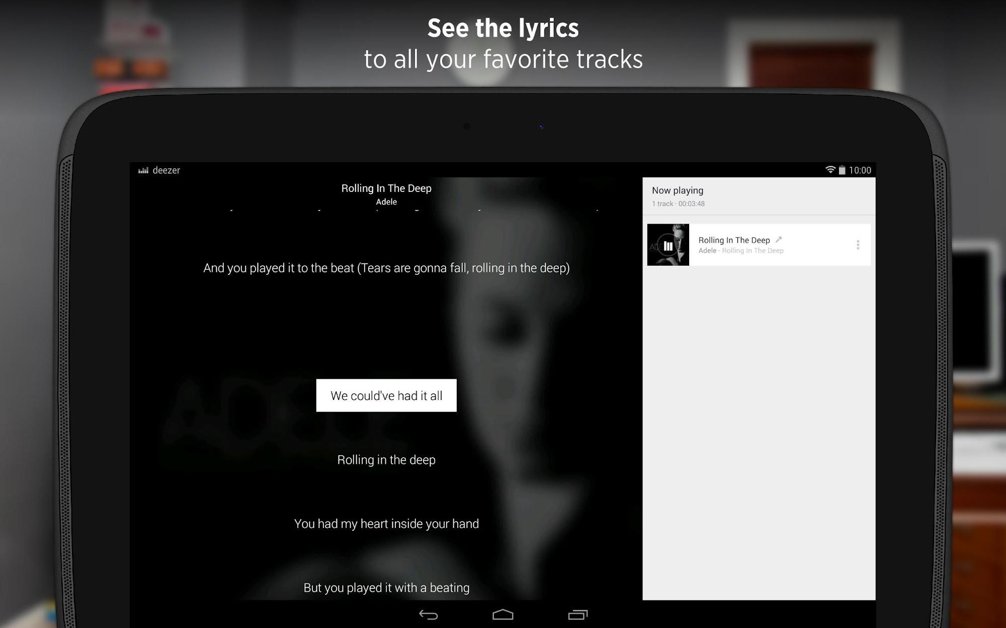 Deezer - Songs & Music Player screenshot #9