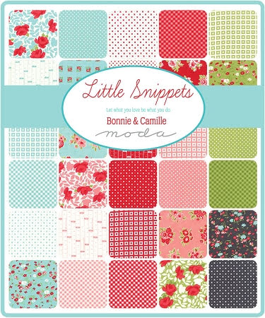 Little Snippets by Bonne & Camille Jelly Roll (11432)