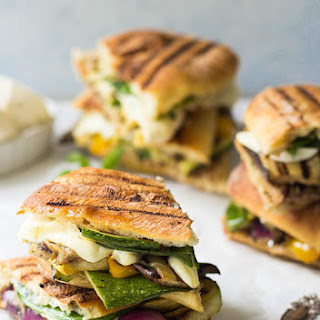 Stovetop Grilled Vegetable Panini.