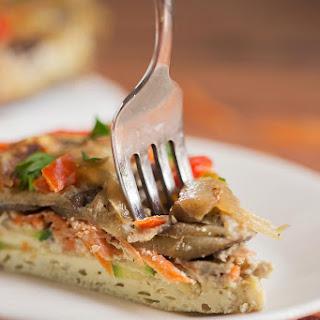 Spring Veggie Keto Frittata Recipe
