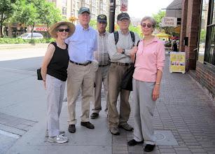 Photo: Walking along Front Street E.
